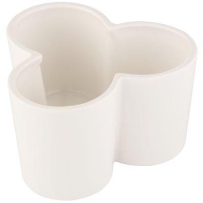 Ceramiczny świecznik na sampler