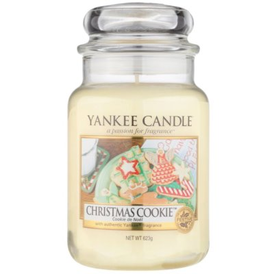 Yankee Candle Christmas Cookie Αρωματικό κερί  Κλασικό μεγάλο