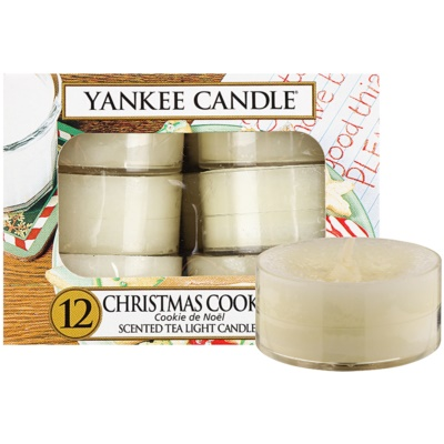 Yankee Candle Christmas Cookie Tealight Candle