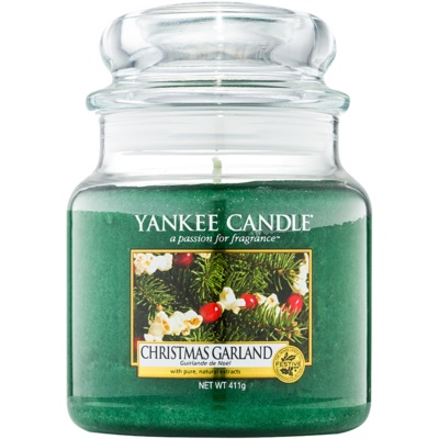 Yankee Candle Christmas Garland Duftkerze   Classic medium