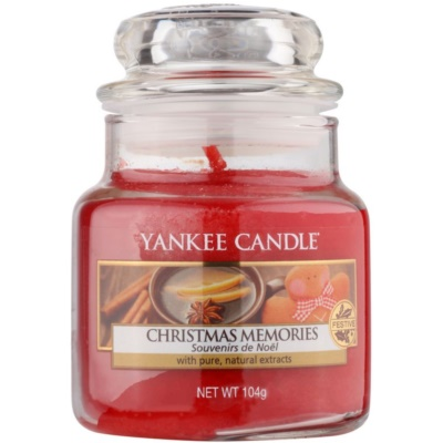 Yankee Candle Christmas Memories ароматизована свічка   Classic  маленька