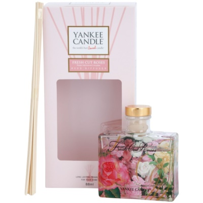 Yankee Candle Fresh Cut Roses Aroma Diffuser With Refill  Signature