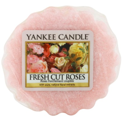 Yankee Candle Fresh Cut Roses κερί για αρωματική λάμπα