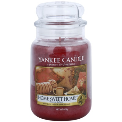 Yankee Candle Home Sweet Home Scented Candle  Classic Large