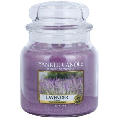 Yankee Candle Lavender Αρωματικό κερί  Κλασικό μέτριο