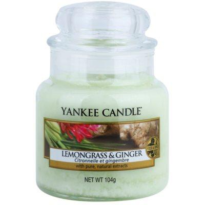 Yankee Candle Lemongrass & Ginger bougie parfumée  Classic petite