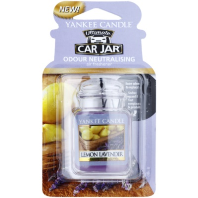 Yankee Candle Lemon Lavender Car Air Freshener   hanging