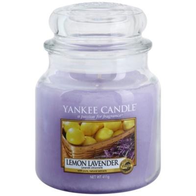 Yankee Candle Lemon Lavender vela perfumado  Classic médio
