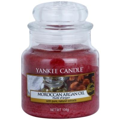 Yankee Candle Moroccan Argan Oil ароматизована свічка   Classic  маленька
