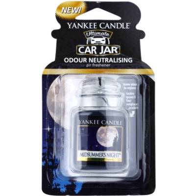 Yankee Candle Midsummer´s Night ambientador auto   suspenso
