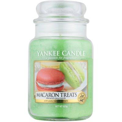 Yankee Candle Macaron Treats Αρωματικό κερί  Κλασικό μεγάλο