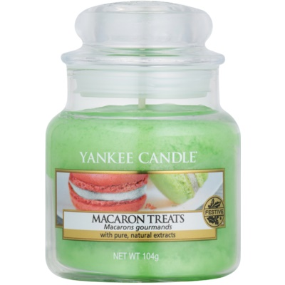 Yankee Candle Macaron Treats Αρωματικό κερί  Κλασικό μικρό