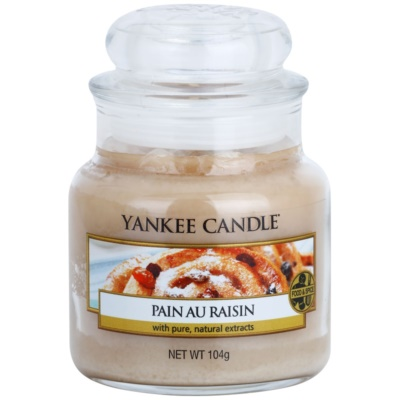 Yankee Candle Pain au Raisin ароматна свещ   Classic малка