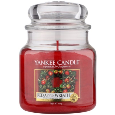 Yankee Candle Red Apple Wreath scented candle Classic Medium