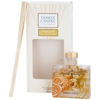 Yankee Candle Vanilla Satin Aroma Diffuser With Filling  Signature