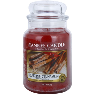 Yankee Candle Sparkling Cinnamon bougie parfumée  Classic grande