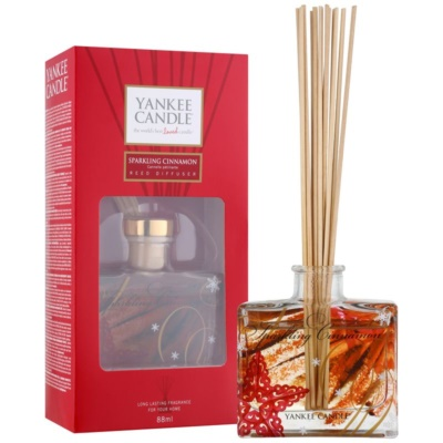 Yankee Candle Sparkling Cinnamon Aroma Diffuser With Filling  Signature