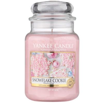 Yankee Candle Snowflake Cookie Αρωματικό κερί  Κλασικό μεγάλο
