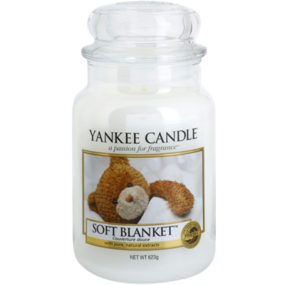 Yankee Candle Soft Blanket Scented Candle  Classic Large
