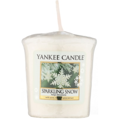 Yankee Candle Sparkling Snow Votive Candle