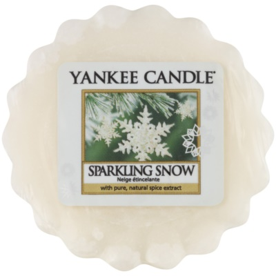 Yankee Candle Sparkling Snow cera per lampada aromatica