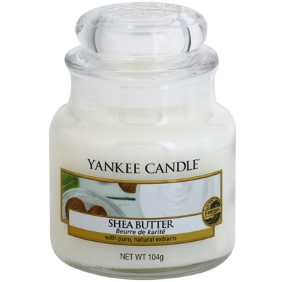 Yankee Candle Shea Butter Scented Candle  Classic Mini