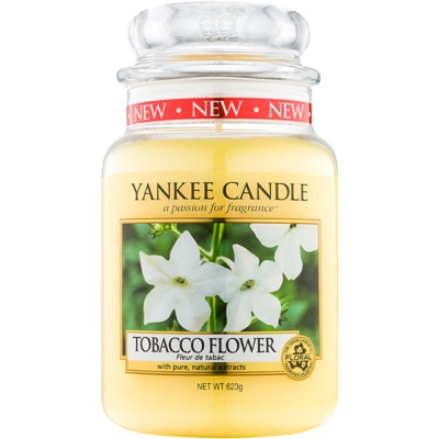 Yankee Candle Tobacco Flower Scented Candle  Classic Large