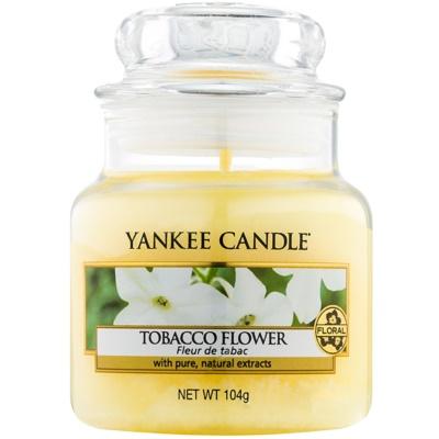 Yankee Candle Tobacco Flower świeczka zapachowa   Classic mała
