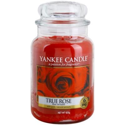 Yankee Candle True Rose Αρωματικό κερί  Κλασικό μεγάλο