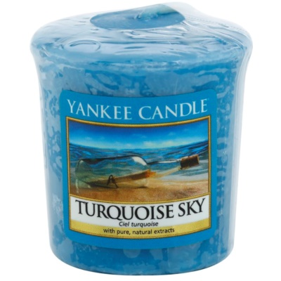 Yankee Candle Turquoise Sky Votive Candle