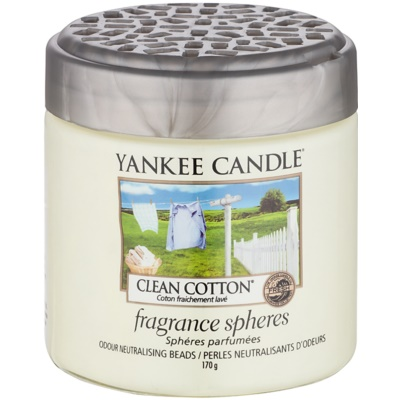 Yankee Candle Clean Cotton dišeči biseri