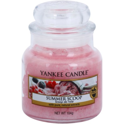 Yankee Candle Summer Scoop Scented Candle  Classic Mini