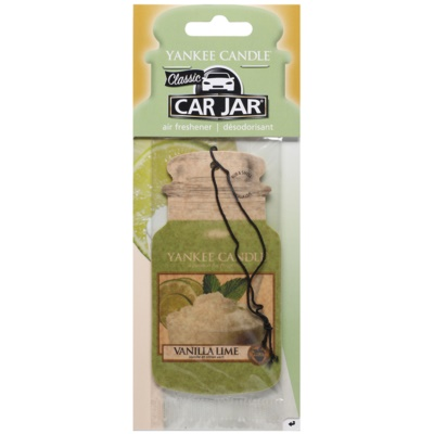 Yankee Candle Vanilla Lime Hanging Car Air Freshener