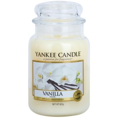 Yankee Candle Vanilla bougie parfumée  Classic grande