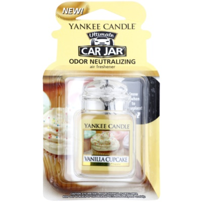 Yankee Candle Vanilla Cupcake Désodorisant voiture   à suspendre
