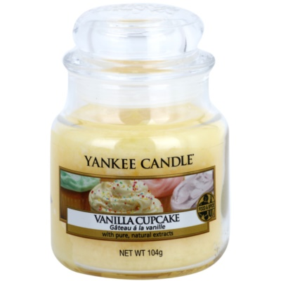 Yankee Candle Vanilla Cupcake Scented Candle  Classic Mini