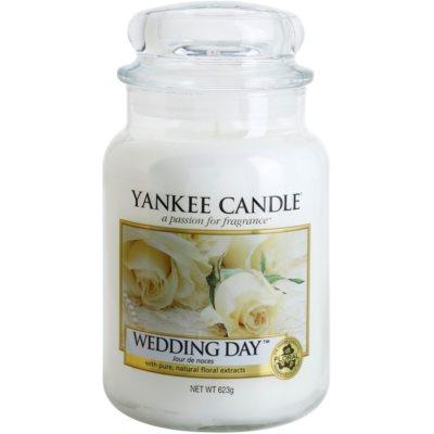Yankee Candle Wedding Day Αρωματικό κερί  Κλασικό μεγάλο