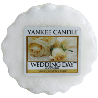 Yankee Candle Wedding Day Wachs für Aromalampen