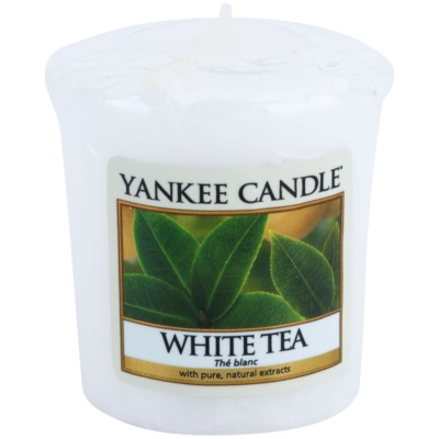 Yankee Candle White Tea Votive Candle