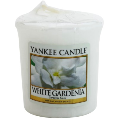 Yankee Candle White Gardenia Votive Candle