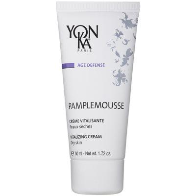 revitalisierende Creme für trockene Haut