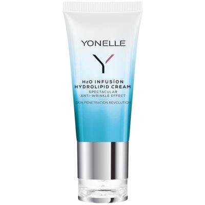 crema hidrolipídica con efecto antiarrugas