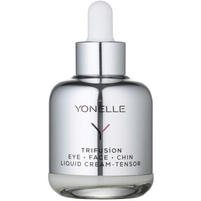flüssige Creme mit Liftingeffekt für den Augenbereich und die Gesichtskonturen