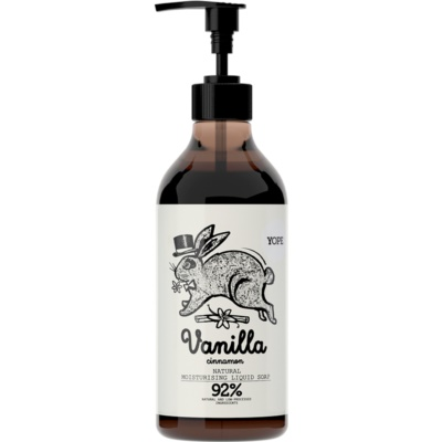 Yope Vanilla & Cinnamon Liquid Soap With Moisturizing Effect