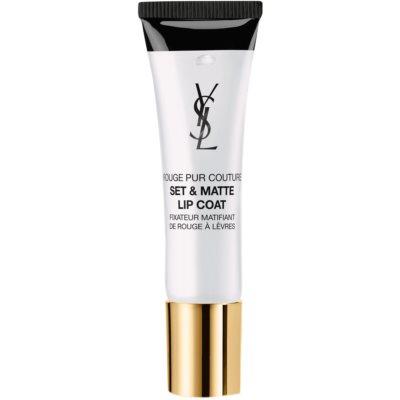 Yves Saint Laurent Rouge Pur Couture Set & Matte Lip Coat fissante per rossetto effetto opaco
