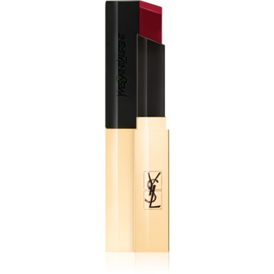 Yves Saint Laurent Rouge Pur Couture The Slim barra de labios de acabado cuero mate