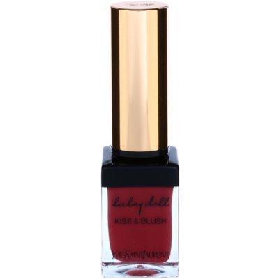 Yves Saint Laurent Baby Doll Kiss & Blush rouge à lèvres et blush en un seul produit