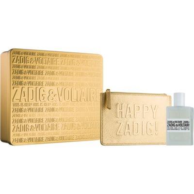 Zadig & Voltaire This Is Her! подаръчен комплект  парфюмна вода 50 ml + чантичка 1 ks