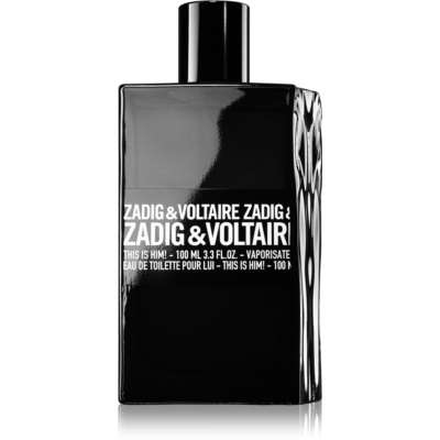 Zadig & Voltaire This Is Him! Eau de Toilette for Men 100 ml