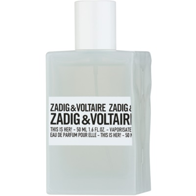 Zadig & Voltaire This Is Her! Eau de Parfum für Damen